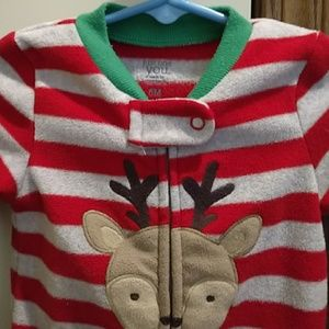 just one you by Carter's One Pieces - Infant fleece jammies